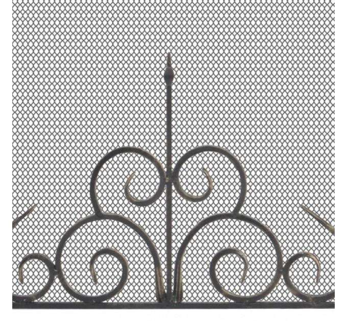 Экран каминный Везувий С110Ч