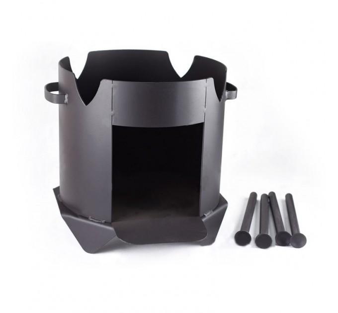 Комплект печь + казан на 12 литров