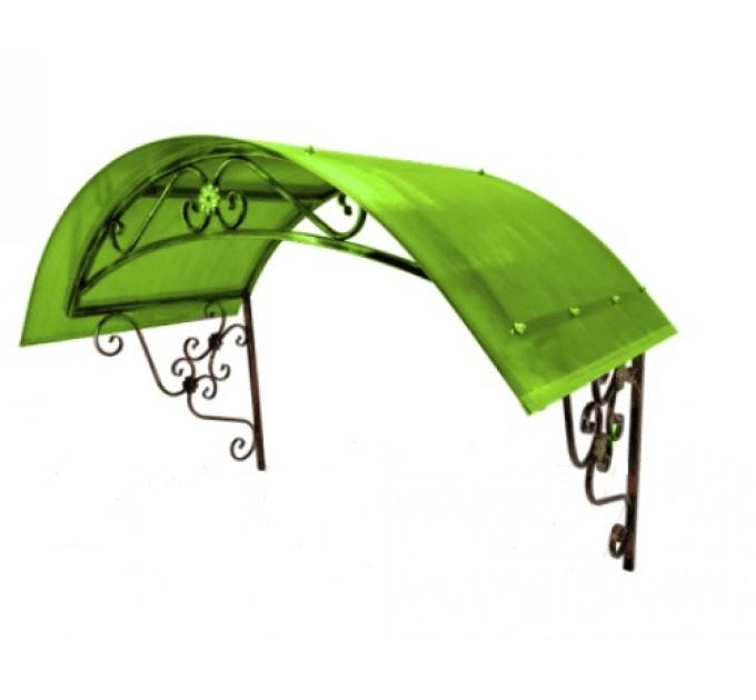 Козырек сварной КЗ-14 зеленый