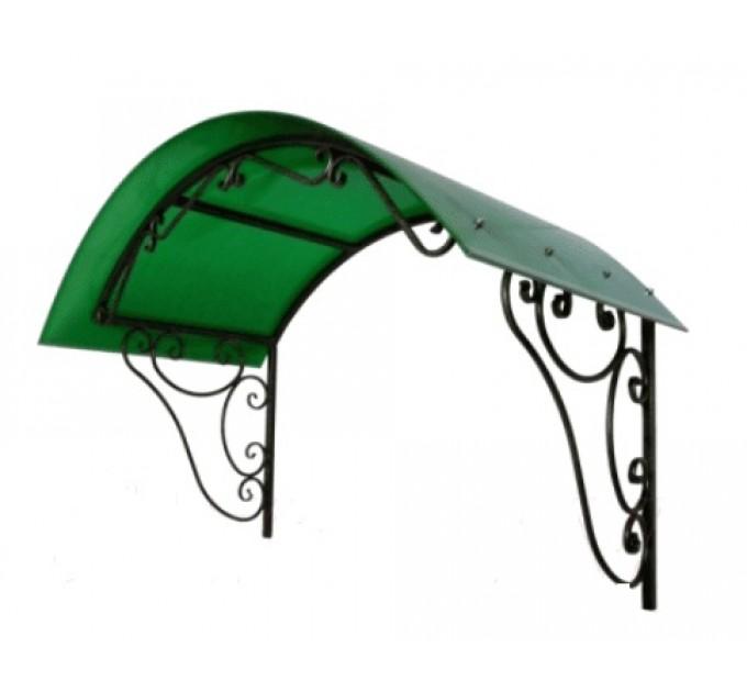 Козырек сварной КЗ-15 зеленый