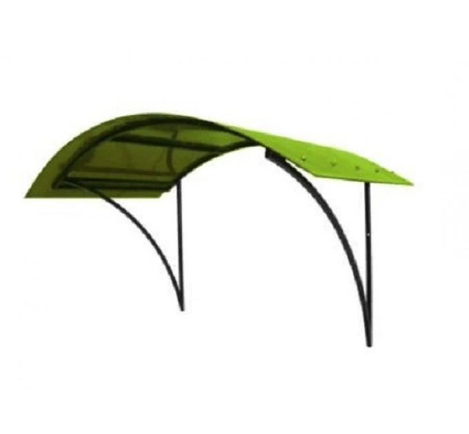 Козырек сварной КЗ-32 зеленый