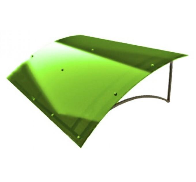 Козырек сварной КЗ-6 зеленый