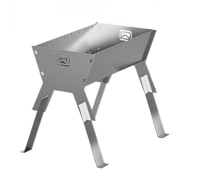 Мангал дровяной разборный Теплодар сталь 3мм, с сумкой
