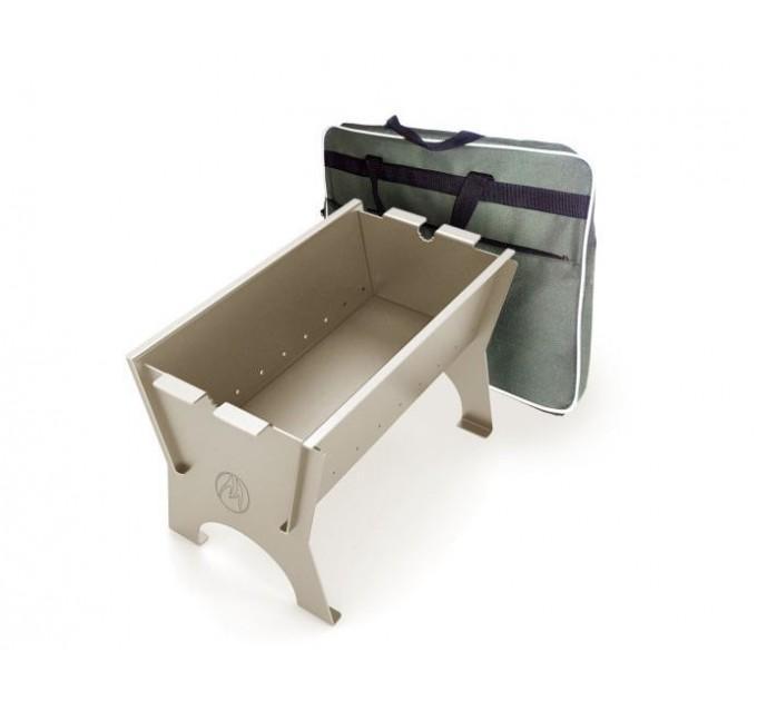 Мангал дровяной сборно-разборный Миртрудмай-1 облегченный, с сумкой