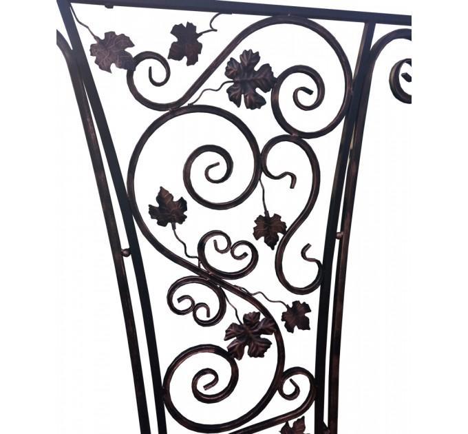 Мангал Версаль Лоза с навесом и декоративной ковкой