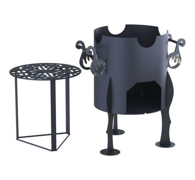 Царь-Печь под казан 8 литров (8мм)