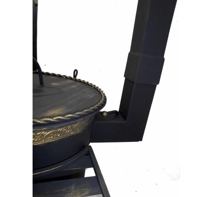 Печь под казан кованная Премиум на 12 литров