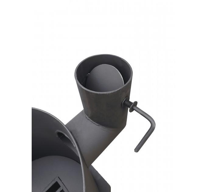 Печь усиленная для казана с зольником на 12 л