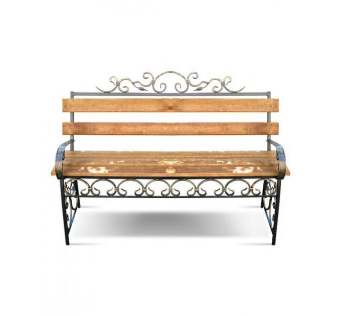 Скамейка с элементами ковки Версаль ЛК-1 1,5 м