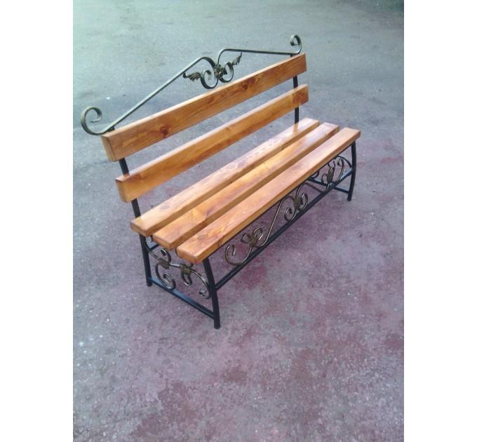 Скамейка с элементами ковки Версаль ЛК-2 2,0 м